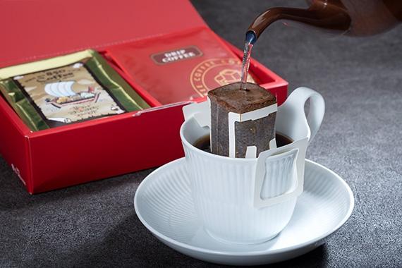 画像1: 芸州おのみち珈琲 ドリップバッグコーヒー 12袋箱入 (1)